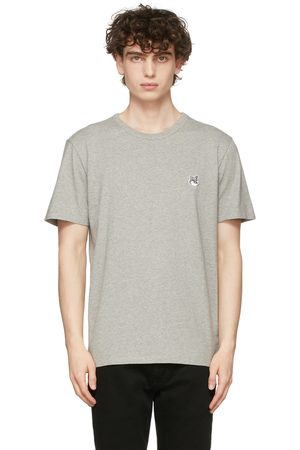 Maison Kitsuné Men Short Sleeve - Fox Head Patch T-Shirt