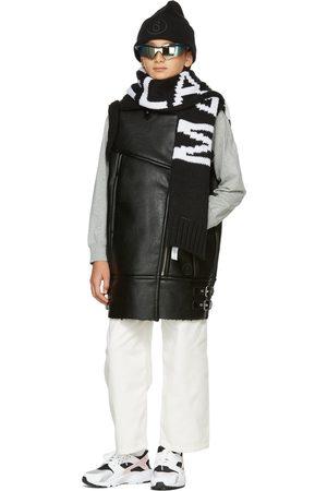 MM6 MAISON MARGIELA Camisoles - Kids Faux-Leather Moto Vest