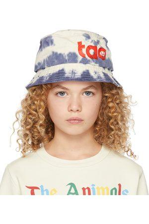 The Animal Observatory Kids & White Tie-Dye Starfish Bucket Hat