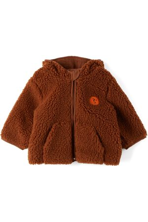 Bobo Choses Baby Face Embroidery Hooded Jacket