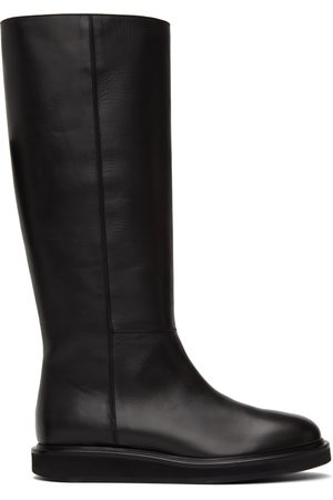 LEGRES Wedge Riding Boots