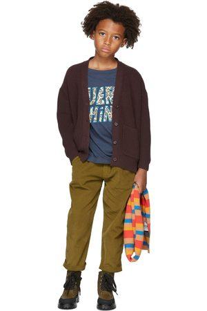 Repose AMS Kids Khaki Corduroy Chino Trousers