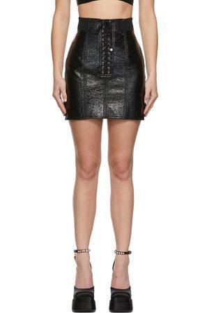 Dolce & Gabbana Waxed Lace Mini Skirt