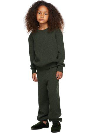 The Row Kids Cashmere Dewey Sweater