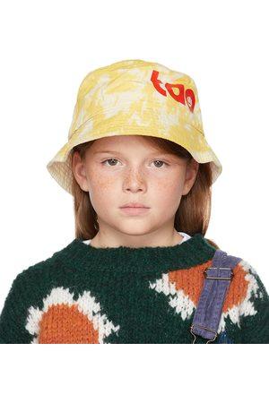 The Animal Observatory Kids & Yellow Tie-Dye Starfish Bucket Hat