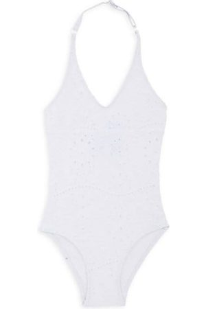 Vilebrequin Little Girl's & Girl's Brod Anglais One-Piece Swimsuit