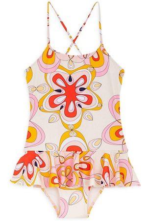 Vilebrequin Girls Swimsuits - Little Girl's & Girl's Kaleidoscope One-Piece Swimsuit