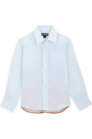 Vilebrequin Little Boy's & Boy's Linen Button-Up Shirt