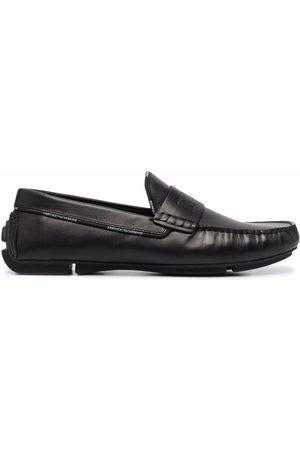 Emporio Armani Drive penny loafers