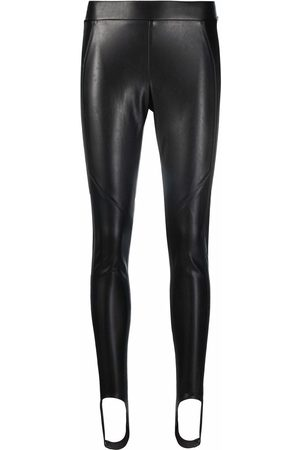 ERMANNO SCERVINO Skinny-cut faux leather trousers