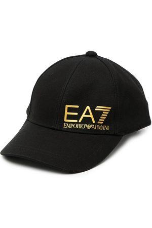 EA7 Logo-print baseball cap