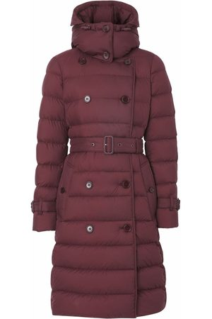 Burberry Double-breasted hooded coat