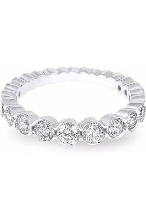 David Morris Women Rings - 18kt white gold Elizabeth diamond eternity ring