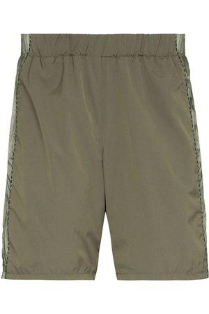 robyn lynch X Columbia panelled track shorts