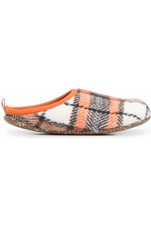 Camper Wabi checked slippers