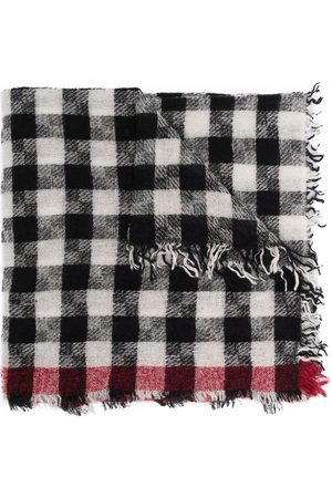 Faliero Sarti Knitted checked scarf