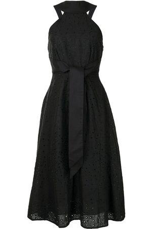 Acler Amber halterneck front tie dress