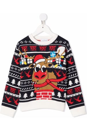The Marc Jacobs Xmas reindeer knit jumper