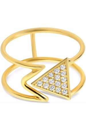 GFG Jewellery 18kt yellow Mara diamond ring
