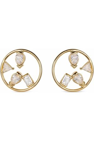 GFG Jewellery 18kt yellow Project 2020 diamond earrings