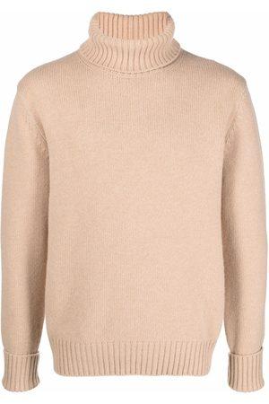 FAY Roll neck wool jumper