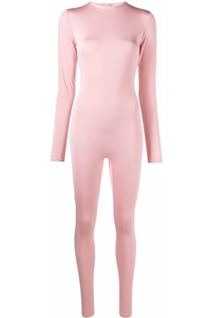Atu Body Couture Stretch long-sleeved jumpsuit