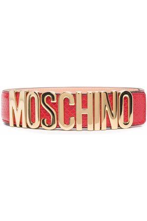 Moschino Logo-lettering belt