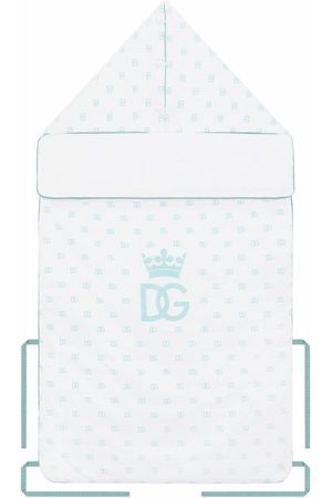 Dolce & Gabbana DG logo-print sleeping bag