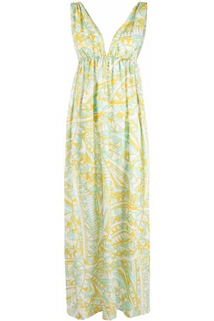 Emilio Pucci Bandierine-print beach dress