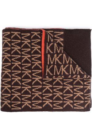 Michael Kors Logo knit scarf