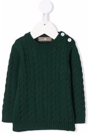 LITTLE BEAR Rib-knit fitted jumper