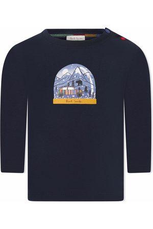 Paul Smith Snow globe-print long-sleeve top