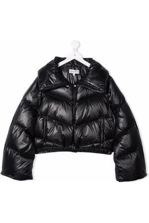 Simonetta Padded zip-up coat