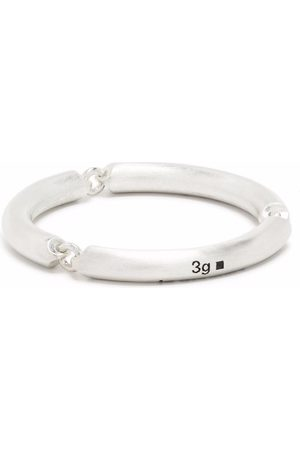 Le Gramme 3g brushed sterling 3 link ring