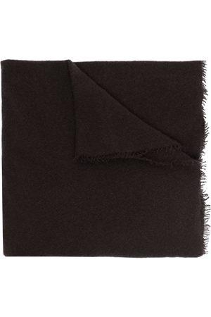 Faliero Sarti Logo-print cashmere scarf