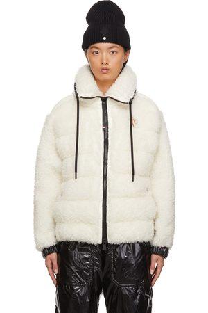 Moncler Off- Teddy Bear Fleece Jacket