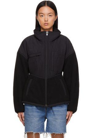 Alexander Wang Sculpted Sherpa & Nylon Canvas Jacket