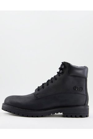 River Island Men Boots - Chunky worker boot in