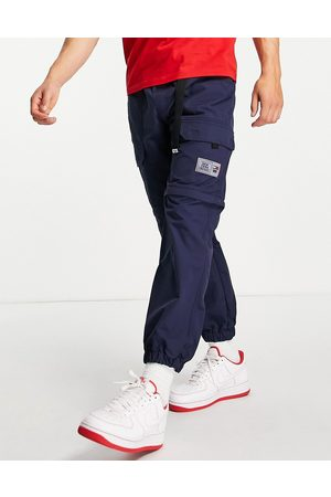 Tommy Hilfiger Tab belt zip off cargo windrunner hiking trousers in navy