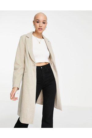 New Look Women Coats - Tailored coat in oatmeal