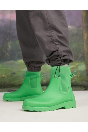 ASOS Wellington boot with scuba detail in