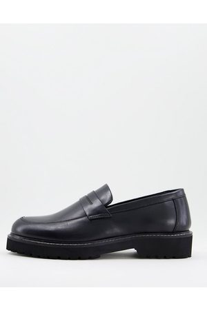 Dune Men Loafers - Sally loafers in leather
