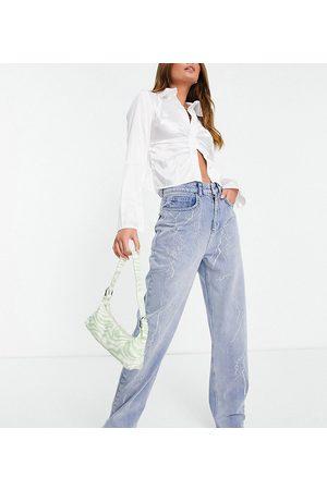 AsYou Women Jeans - Hotfix dad jean in mid