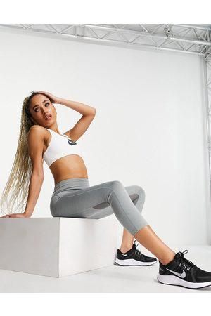 Nike Women Leggings - Dri-FIT Fast cropped leggings in marl