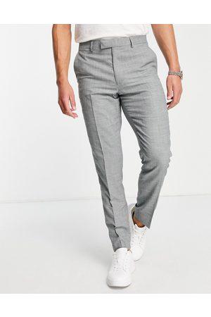 Harry Brown Linen blend slim fit suit trouser
