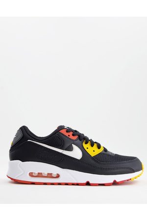 Nike Men Boots - Air Max 90 in and orange