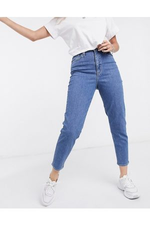 Levi's Women Boyfriend - Levi's high waisted tapered jeans in mid-stone wash