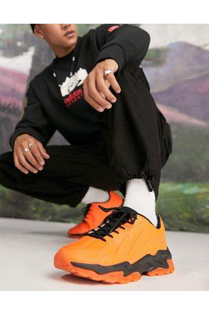 ASOS Men Sneakers - Chunky trainers in neon