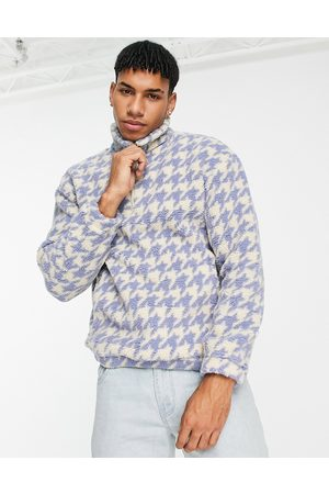 Another Influence Dogtooth print jacket in