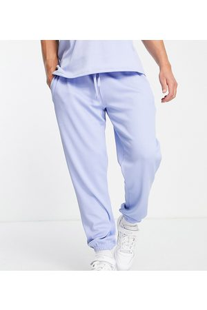 VAI21 Ribbed joggers in ice